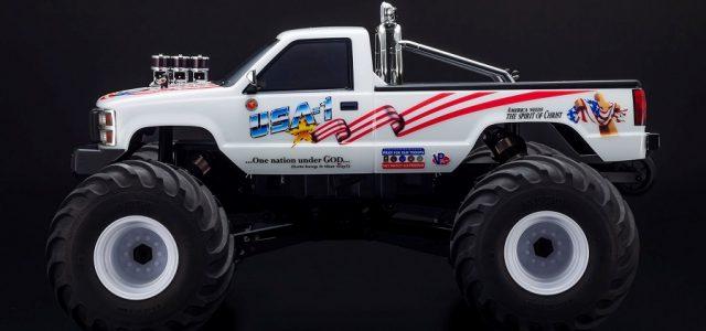Kyosho USA-1 Nitro & Electric 4WD Monster Truck ReadySet