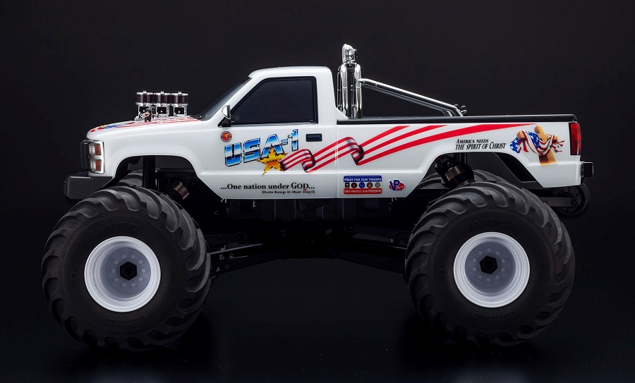 Kyosho USA-1 Nitro & Electric 4WD Monster Truck ReadySet