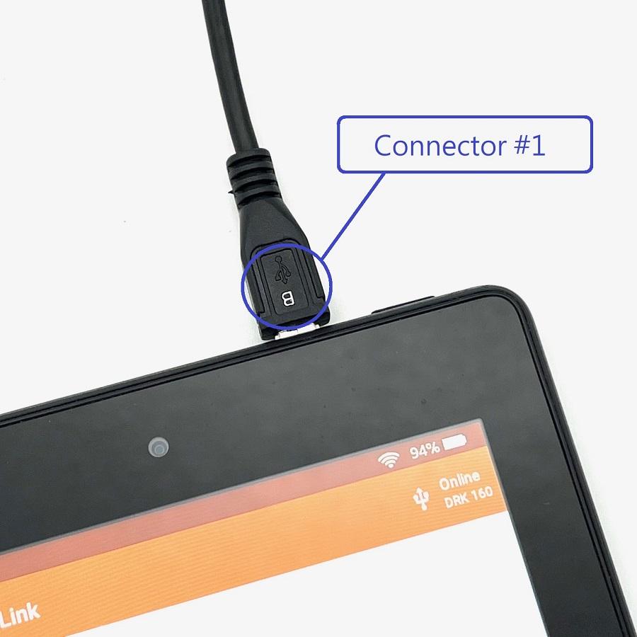Maclan Racing Micro USB To Micro USB OTG Cable