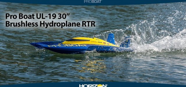 Pro Boat UL-19 30″ Brushless Hydroplane RTR [VIDEO]
