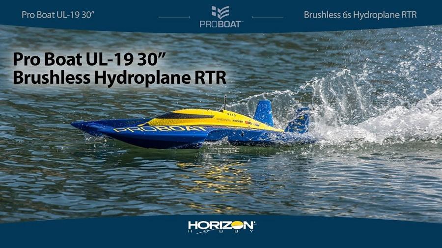 Pro Boat UL-19 30 Brushless Hydroplane RTR