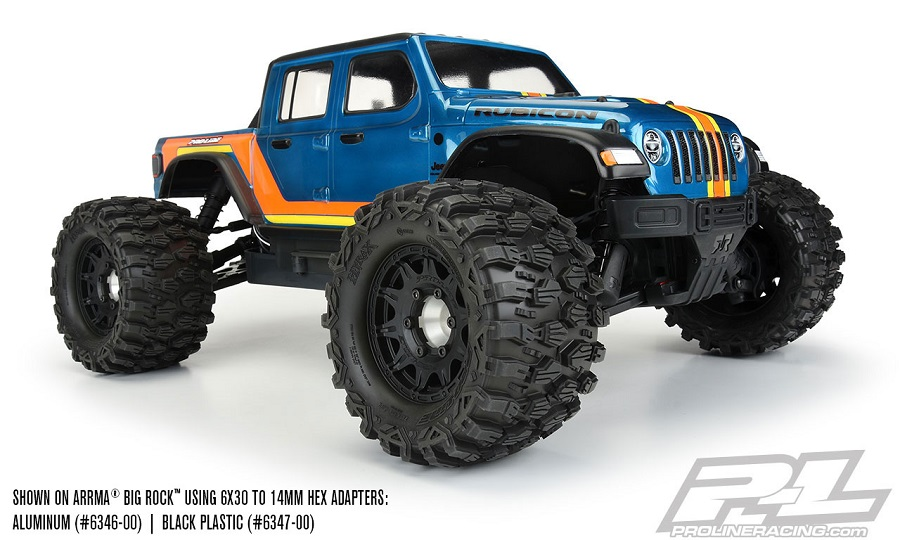 """Pro-Line Mounted Hyrax 2.8"""" All Terrain Tires"""