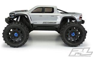 Pro-Line Pre-Cut 2021 Ram 1500 TRX Clear Body For The Traxxas X-MAXX