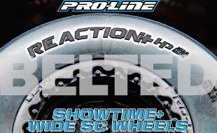 Pro-Line Reaction+ HP Wide SC BELTED Tires & Showtime+ Wide SC Wheels [VIDEO]