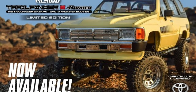 RC4WD Trail Finder 2 RTR With 1985 Toyota 4Runner Body Set [VIDEO]