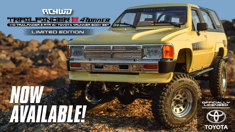 RC4WD Trail Finder 2 RTR With 1985 Toyota 4Runner Body Set