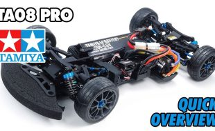 Tamiya 58693 TA08 PRO Overview [VIDEO]