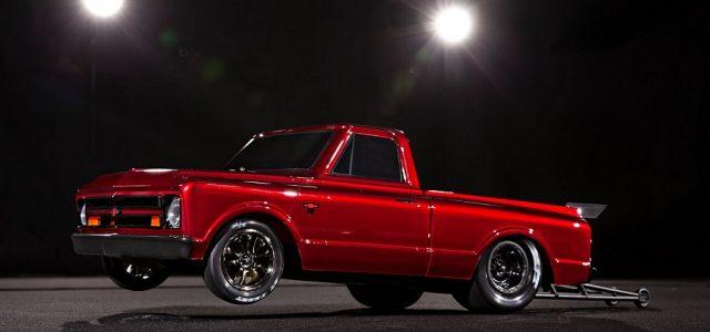 Traxxas Drag Slash With 1967 Chevy C10 Truck Body [VIDEO]
