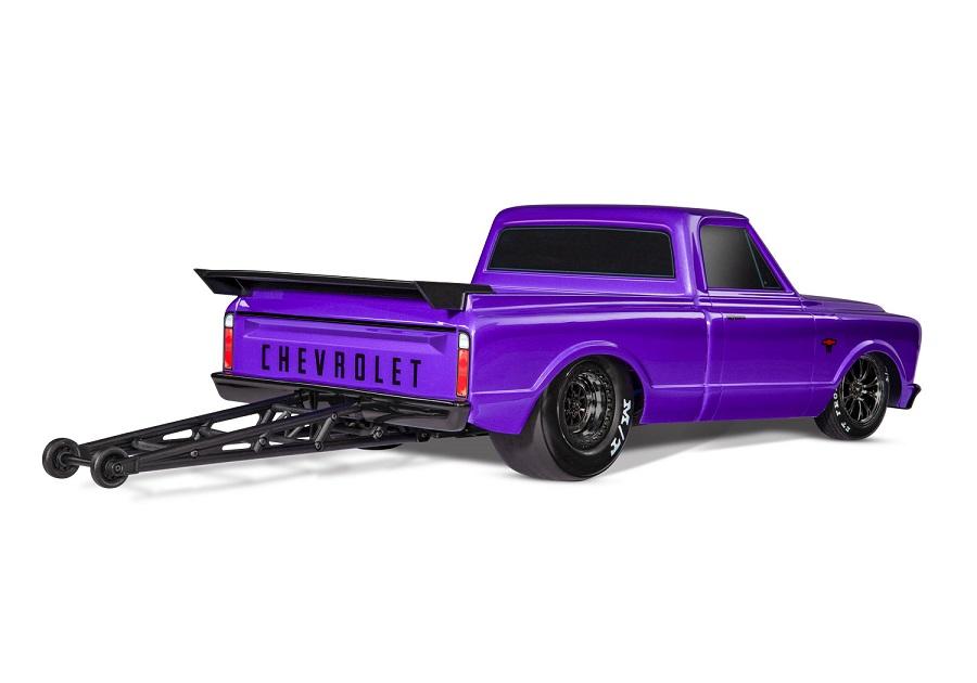 Traxxas Drag Slash With 1967 Chevy C10 Truck Body