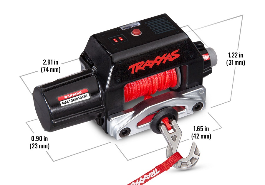 Traxxas Pro Scale Remote Operated Winch For The TRX-4 & TRX-6