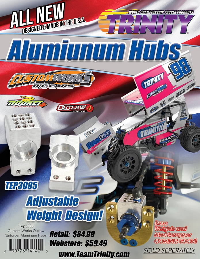 Trinity Aluminum Hubs For Custom Works Vehicles