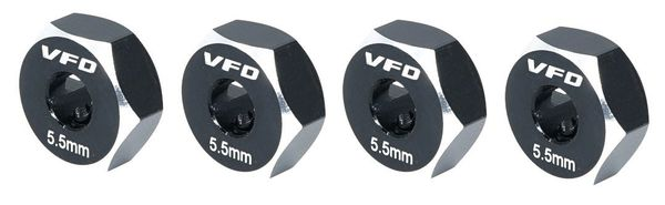 V-Force Designs 12mm Hex Adapters For The Team Associated B6.X