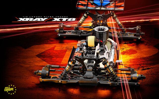 XRAY XT8'22 1/8 Nitro Truggy