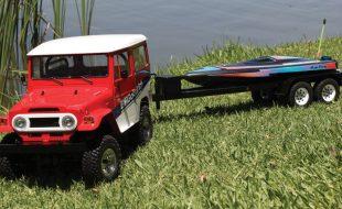 Lakeside Domination: Summer Fun With RC4WD's Gelande II RTR & Oxidean Marine's Mini-Dom Speedboat