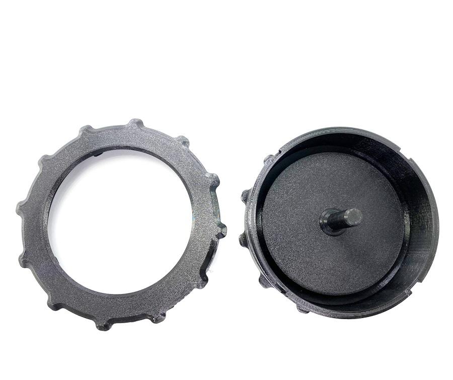Assault RC Revolver Series Tire Gluing Jig