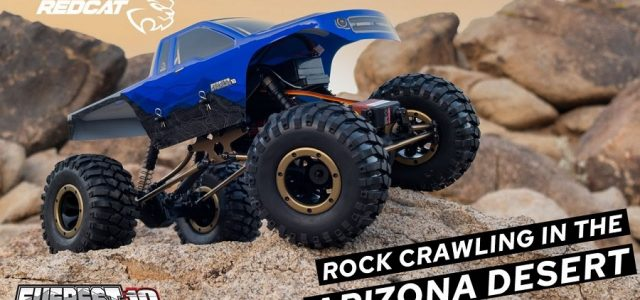 Crawling In The Arizona Desert With The Redcat Everest-10 [VIDEO]