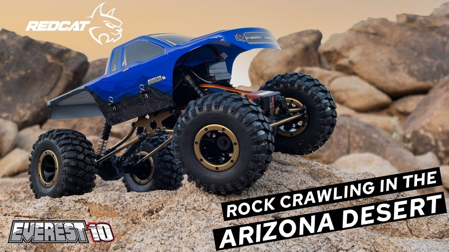 Crawling In The Arizona Desert With The Redcat Everest-10