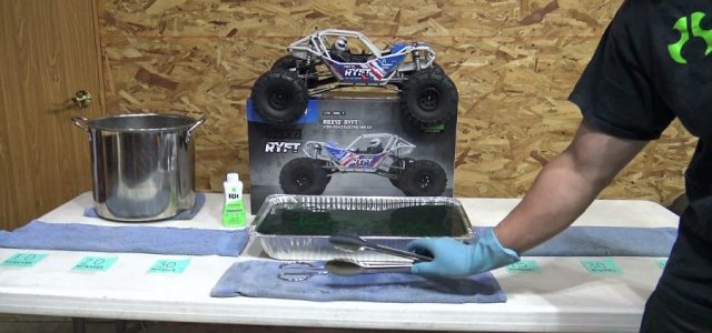 From The Tech Desk: How To Dye Your Axial Ryft Cage [VIDEO]