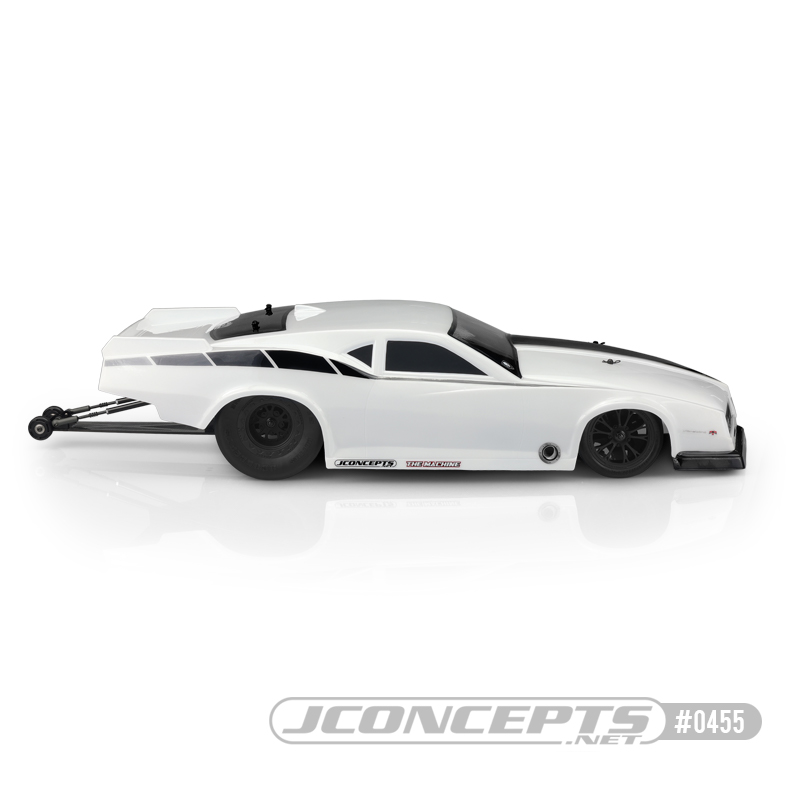 JConcepts 1968 Pontiac Firebird Pro Clear Drag Car Body