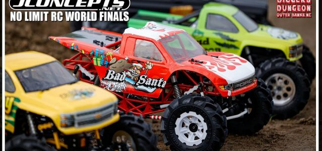 JConcepts Coverage Of The No Limit RC Monster Truck World Finals 2021 At Digger's Dungeon [VIDEO]