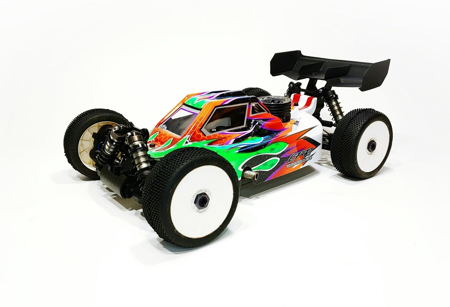 Leadfinger Racing A2.1 Tactic Clear Body For The XRAY XB8 21' Nitro & Electric Buggies