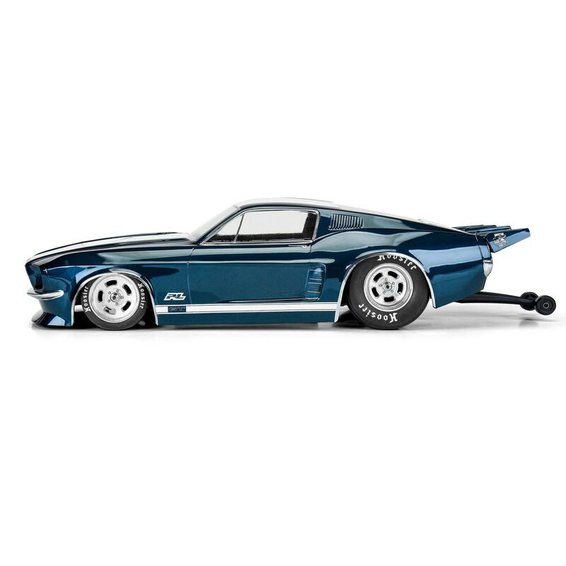 Pro-Line 1967 Ford Mustang SC Drag Car Clear Body