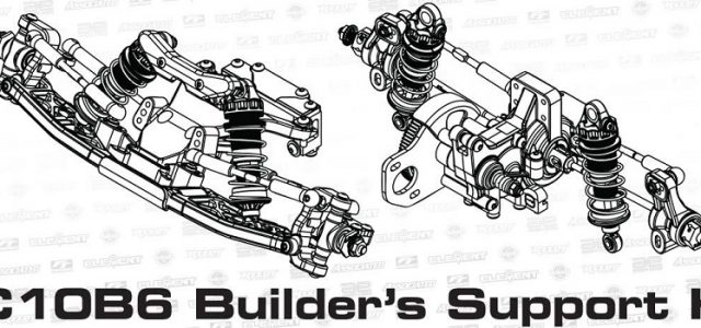 RC10B6 Builder's Support Kit