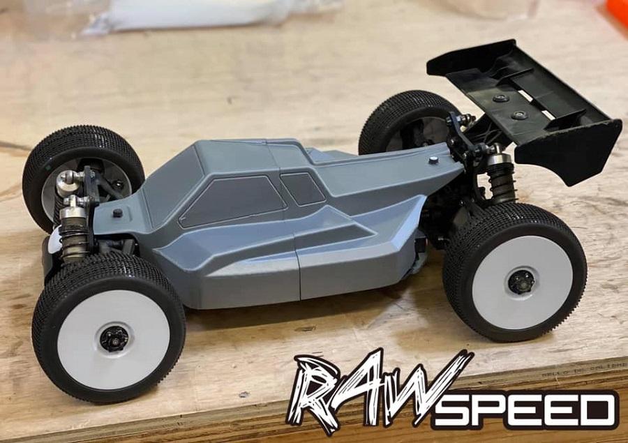 Raw Speed Nitehawk 18 Buggy Clear Body (3)