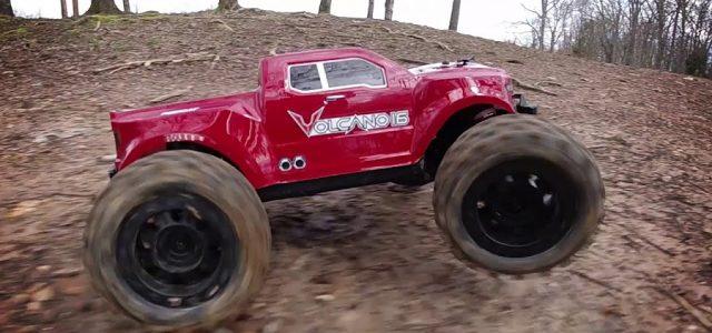 Redcat Volcano-16 Monster Truck in Action [VIDEO]