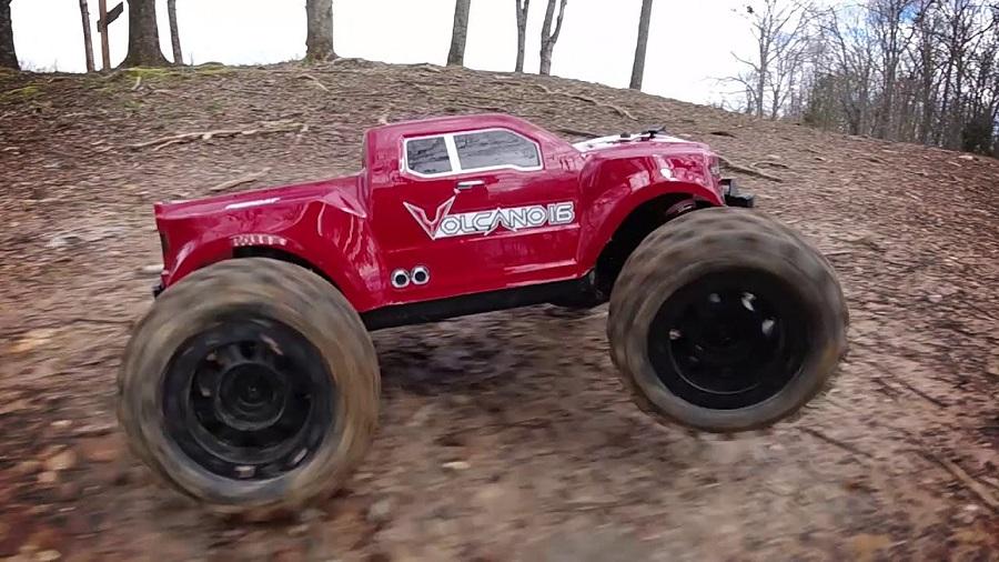 Redcat Volcano-16 Monster Truck in Action