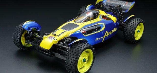 Tamiya Super Avante 1/10 4WD Off-Road Buggy [VIDEO]
