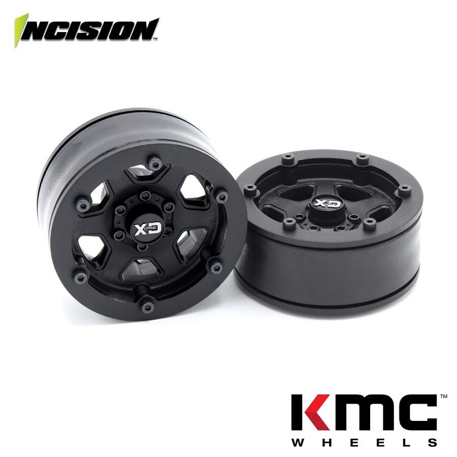 Vanquish Incision KMC 1.9 KM233 Hex Plastic Beadlock Wheel Sets