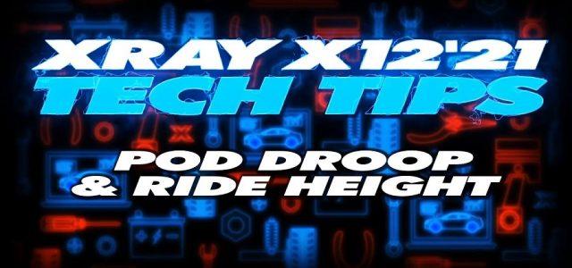 XRAY Tech Tips – X12 Pod Droop & Ride Height [VIDEO]