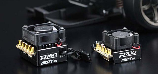 Yokomo BL-R160 & R100 Drift Spec ESCs