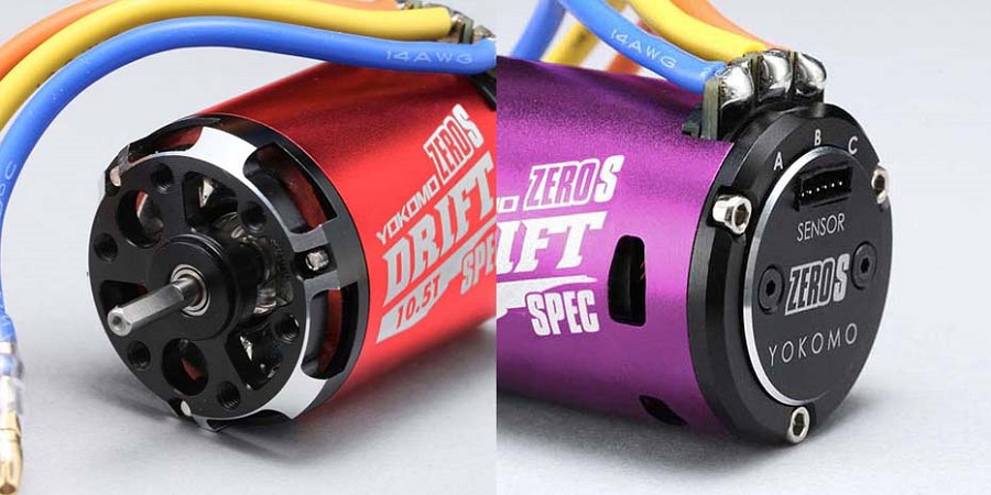 Yokomo ZERO-S Series Drift Blushless Motor
