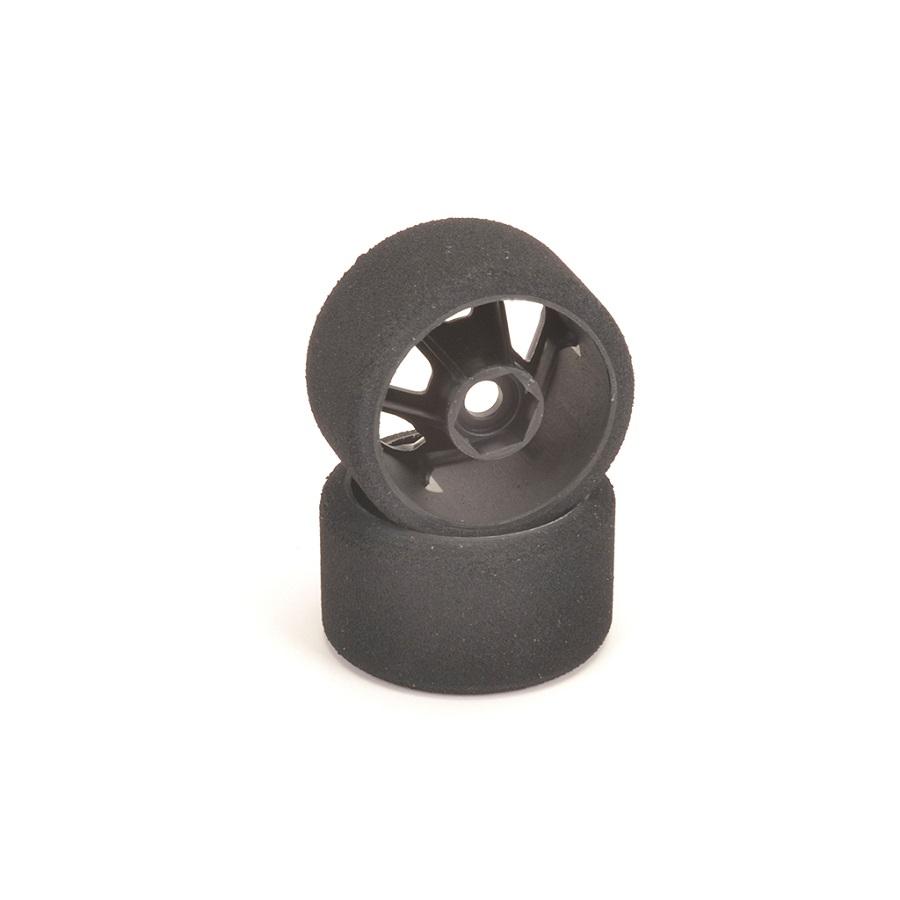Atom 2 Hex Wheel Axle & Contact Tires