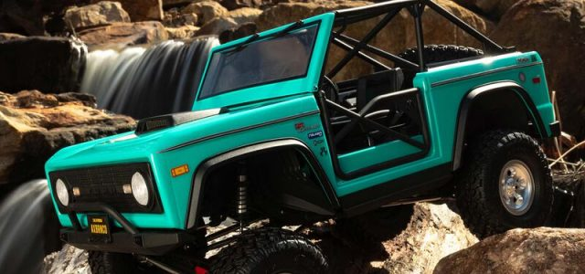 Axial 1/10 SCX10 III Early Ford Bronco 4WD RTR [VIDEO]