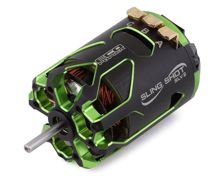 """EcoPower """"Sling Shot SLV2"""" Sensored Brushless Drag Racing Motors"""