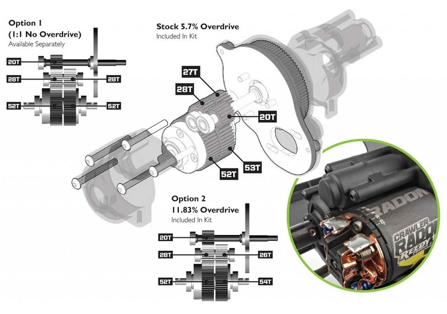 Element Enduro Trail Truck Builder's Kit 2