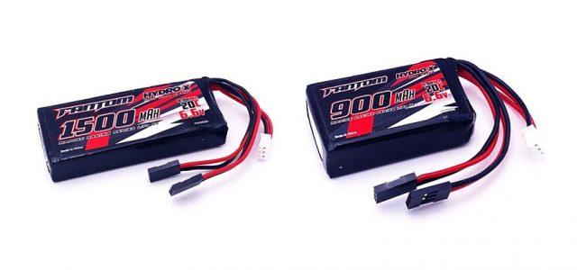 Fantom HYDRO-X Marine Racing Series LiFe Receiver Packs
