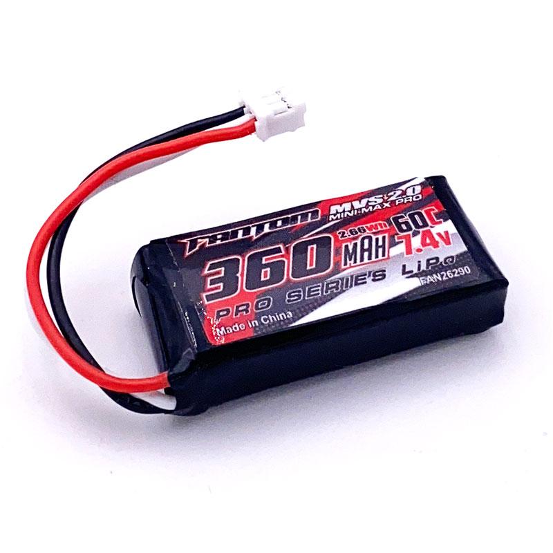 Fantom MVS 2.0 MINI-MAX PRO 360mAh 60C 7.4v 2S LiPo