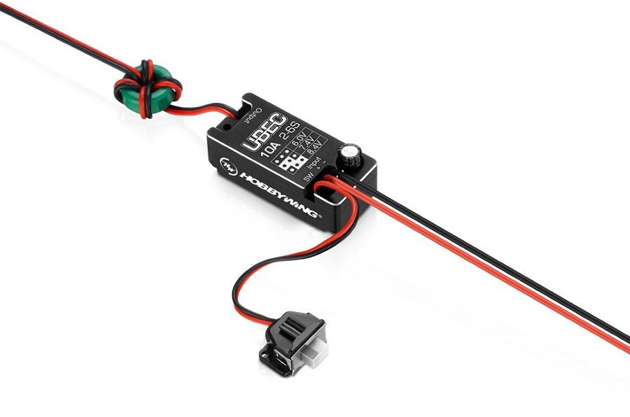 HOBBYWING UBEC 10A-Car External Switching-Mode DC-DC Regulator