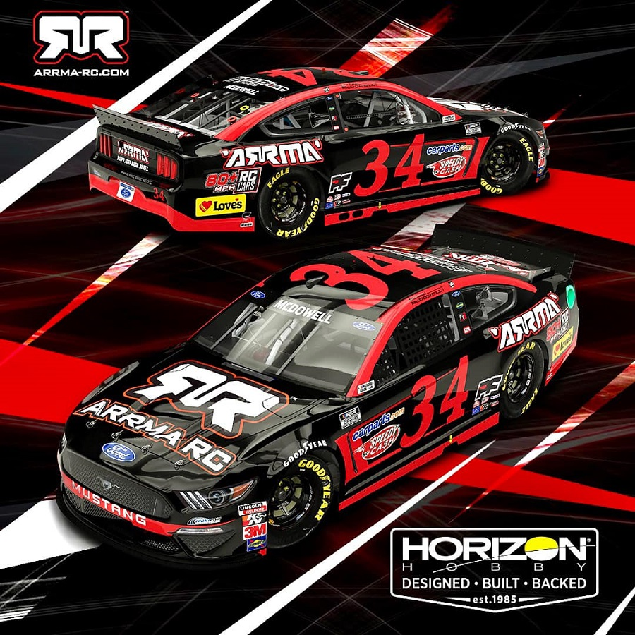 Horizon Hobby Partners With Front Row Motorsports