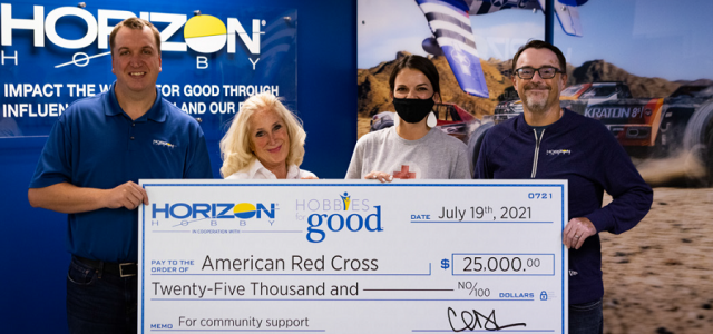 Horizon Hobby Partnership with American Red Cross