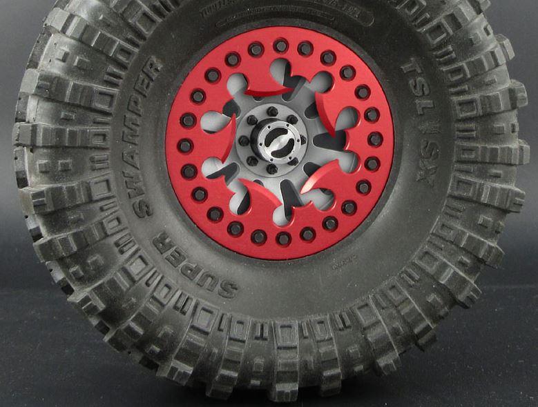"Locked Up RC 1.9"" Generator AO8 Internal Wheels"