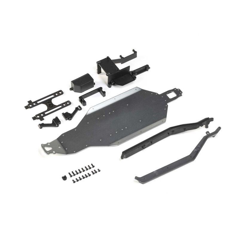 Losi 22S SCT/Drag Car Aluminum Chassis Conversion Kit