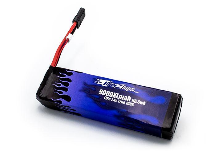 MaxAmps LiPo 9000XL 2S 7.4v Battery Pack For The Drag Slash