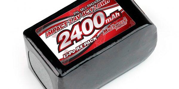 Muchmore IMPACT FD4 LiPo Battery 2400mAh 7.4V 4C Hmp Size Pack