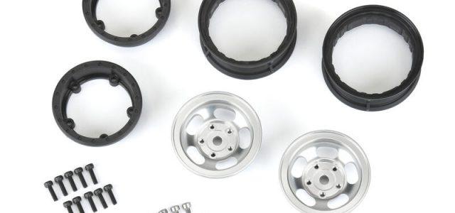 """Pro-Line 1/10 Slot Mag F/R 1.55"""" Rock Crawler 12mm Aluminum Wheels"""