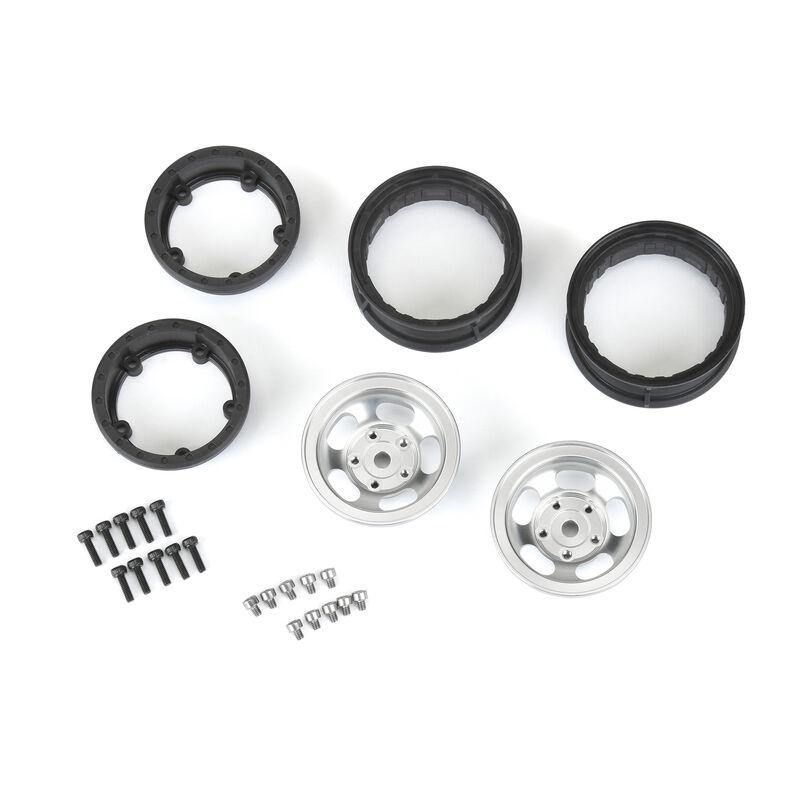 "Pro-Line 110 Slot Mag FR 1.55"" Rock Crawler 12mm Aluminum Wheels"